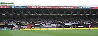 Leeds United fans <br /> <br /> Photographer Ian Cook/CameraSport<br /> <br /> The EFL Sky Bet Championship - Bristol City v Leeds United - Sunday 4th August 2019 - Ashton Gate Stadium - Bristol<br /> <br /> World Copyright © 2019 CameraSport. All rights reserved. 43 Linden Ave. Countesthorpe. Leicester. England. LE8 5PG - Tel: +44 (0) 116 277 4147 - admin@camerasport.com - www.camerasport.com