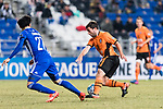 Brisbane Roar Forward Thomas Oar (R) in action during the AFC Champions League 2017 Group E match between Ulsan Hyundai FC (KOR) vs Brisbane Roar (AUS) at the Ulsan Munsu Football Stadium on 28 February 2017 in Ulsan, South Korea. Photo by Victor Fraile / Power Sport Images