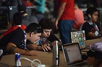 BRASÍLIA, DF, 14.06.2017 - CAMPUS PARTY-DF - Vista do Campus Party Brasília, evento sobre inovação tecnológica, internet e entretenimento eletrônico, que acontece no Centro de Convenções Ulisses Guimarães. (Foto: Ricardo Botelho/Brazil Photo Press)