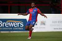 Chike Kandi of Dagenham and Redbridge during Dagenham & Redbridge vs Chesterfield, Vanarama National League Football at the Chigwell Construction Stadium on 15th September 2018