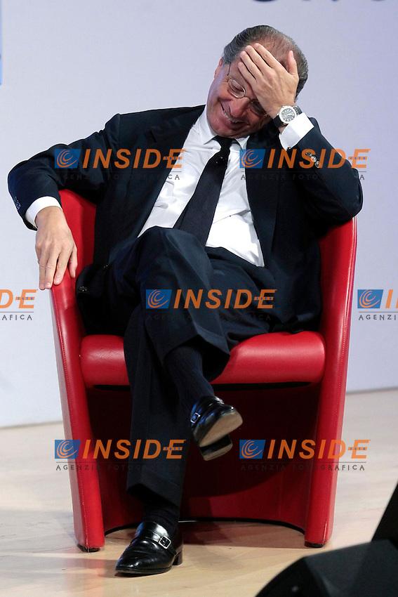 Luigi Bisignani<br /> Roma 03/06/2013 Luigi Bisignani ospite dell'ultima puntata di 'Roma InConTra - Ara Pacis', intitolata &quot;C'era una volta il potere&quot;.<br /> Photo Samantha Zucchi Insidefoto