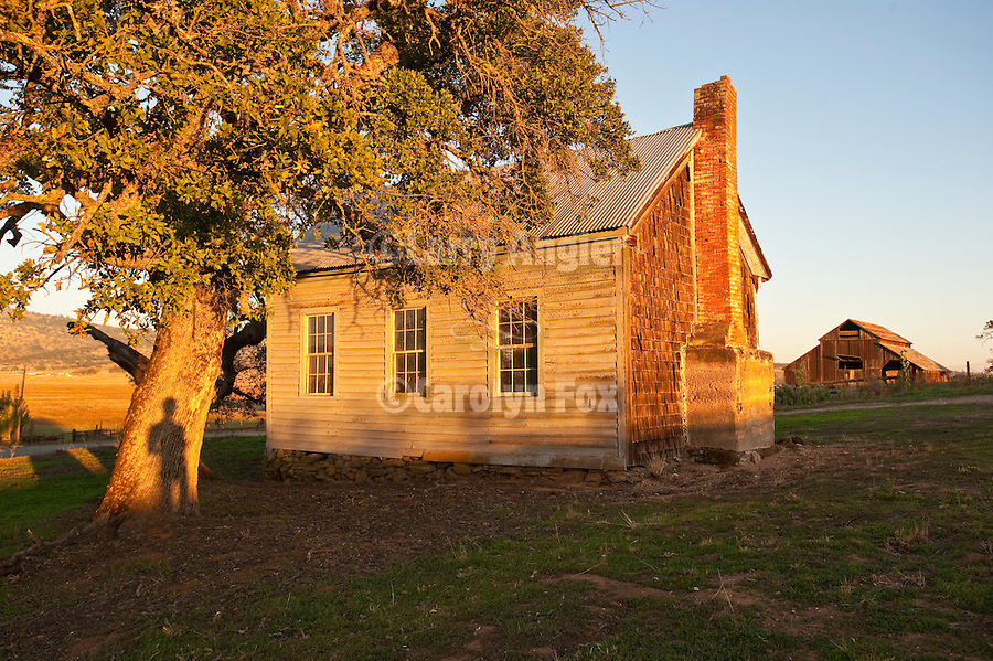 Old Salt Spring Valley one-room school house