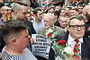 Vigil for the people murdered in the Pulse Club shooting in Orlando Florida by Omar Mateen<br /> in Old Compton Street, London, Great Britain <br /> 13th June 2016 <br /> <br /> Tom Watson <br /> <br /> Jeremy Corbyn <br /> Leader of the labour Party <br /> <br /> <br /> <br /> Photograph by Elliott Franks <br /> Image licensed to Elliott Franks Photography Services