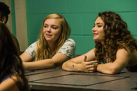 Eighth Grade (2018)   <br /> Emily Robinson and Elsie Fisher <br /> *Filmstill - Editorial Use Only*<br /> CAP/MFS<br /> Image supplied by Capital Pictures