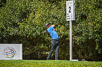 Justin Thomas (USA) watches his tee shot on 2 during round 3 of the World Golf Championships, Mexico, Club De Golf Chapultepec, Mexico City, Mexico. 2/23/2019.<br /> Picture: Golffile | Ken Murray<br /> <br /> <br /> All photo usage must carry mandatory copyright credit (© Golffile | Ken Murray)