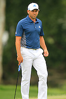 Sergio Garcia (ESP) walks onto the 8th green during Thursday's Round 1 of the 2014 PGA Championship held at the Valhalla Club, Louisville, Kentucky.: Picture Eoin Clarke, www.golffile.ie: 7th August 2014