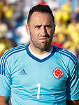 Colombia's David Ospina during international friendly match. June 13,2017.(ALTERPHOTOS/Acero)