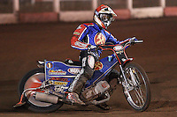 Andreas Jonsson of Lakeside - Lakeside Hammers vs Coventry Bees - Craven Shield Final 1st Leg at The Arena Essex Raceway, Lakeside - 16/10/08 - MANDATORY CREDIT: Rob Newell/TGSPHOTO