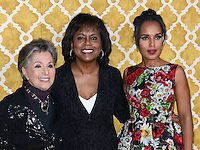 Kerry Washington + Anita Hill + Barbara Boxer @ the HBO premiere of 'Confirmation' held @ the Paramount Studios theatre.<br /> March 31, 2016