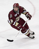 Boston College freshman forward Ben Smith of Avon, Connecticut played last season at Westminster. The Boston College Eagles defeated the University of Wisconsin Badgers 3-0 on Friday, October 27, 2006, at the Kohl Center in Madison, Wisconsin in their first meeting since the 2006 Frozen Four Final which Wisconsin won 2-1 to take the national championship.<br />