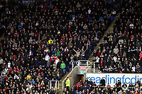 Wednesday 26 December 2012<br /> Pictured: Swansea supporters.<br /> Re: Barclays Premier League, Reading v Swansea City FC at the Madejski Stadium, Reading, Berkshire.