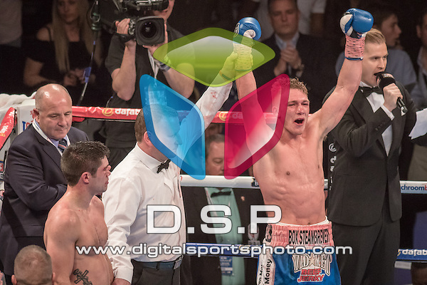 John Ryder V Nick Blackwell - British Middleweight Championship.<br /> <br /> Saturday 30th May, 2015. - The O2 Arena, Peninsula Square, London, United Kingdom.