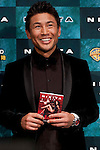 "June 28, 2012 : Tokyo, Japan - Japanese former K1 fighter Masato appears at the Japan Premiere for ""Nikita? at TOHO Cinemas in the Roppongi Hills complex in downtown Tokyo. Nikita is an American television drama about a character named Nikita, who escaped from a secret-government founded organization. Maggie Q, who plays the character of Nikita, first started her career modeling in Tokyo and moved to several countries such as Taipei, Hong Kong and back to United States. (Photo by Yumeto Yamazaki/AFLO)"