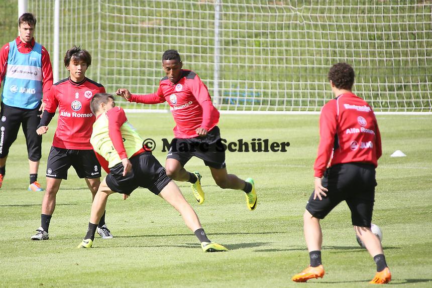 Zie Moussa Ouattara - Eintracht Frankfurt Training, Commerzbank Arena