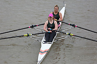 Crew: 407   AKN-O'SULLIVAN    Auriol Kensington Rowing Club    W 2x Fresher <br /> <br /> Pairs Head 2017<br /> <br /> To purchase this photo, or to see pricing information for Prints and Downloads, click the blue 'Add to Cart' button at the top-right of the page.