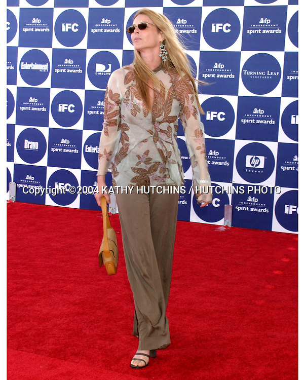 ©2004 KATHY HUTCHINS /HUTCHINS PHOTO.2004 IFP INDEPENDENT SPIRIT AWARDS.SANTA MONICA, CA.FEBRUARY 28, 2004..CATHERINE OXENBERG.