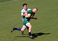 Manawatu v Northland men's shield final.  Day two of the 2018 Bayleys National Sevens at Tauranga Domain in Tauranga, New Zealand on Sunday, 16 December 2018. Photo: Dave Lintott / lintottphoto.co.nz