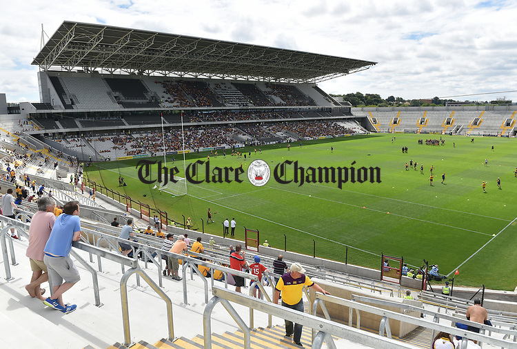 A general view of the stadium before the All-Ireland quarter final  at Pairc Ui Chaoimh. Photograph by John Kelly.