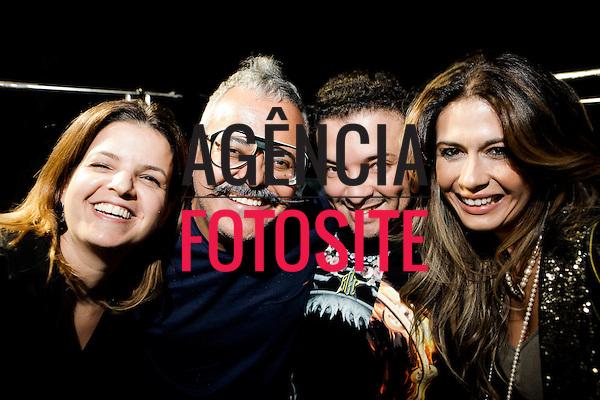Sao Paulo, Brasil - 02/04/2014 - Backstage  do desfile de Ronaldo Fraga durante o SPFW  - Verao 2015. <br /> Foto : Sergio Caddah/ FOTOSITE