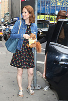 NEW YORK, NY - July 03. Ellie Kemper seen after an appearance on Good Morning America promoting her new book My Squirrel Days on July 03, 2019  in New York City. <br /> CAP/MPI/RW<br /> ©RW/MPI/Capital Pictures