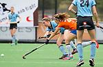 BLOEMENDAAL - Kiki Rozemeijer (Bl'daal) , 2e play out wedstrijd tussen Bloemendaal-HGC dames (2-0). COPYRIGHT KOEN SUYK