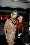 Singer Jodi Stevens performs and poses with Jane Elissa at New Year's Eve 2016 at The Copacabana, New York City, New York. (Photo by Sue Coflin/Max Photos)  suemax13@optonline.net