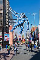 King Kong, Universal City, California, Citywalk, Photo Spot, Universal studios, holiday,  travel, us, usa, vacation,
