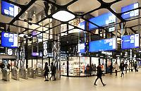 Nederland Amsterdam 2016. De hal van Centraal Station aan de IJ-zijde. Foto Berlinda van Dam / Hollandse hoogte