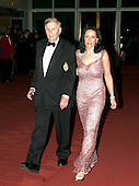 Sumner Redstone, Chairman and Chief Executive Officer (CEO), Viacom, and his wife, Paula, arrive for the Kennedy Center Honors taping at the John F. Kennedy Center for the Performing Arts in Washington, D.C. on December 4, 2005.<br /> Credit: Ron Sachs / CNP