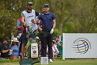 Danny Willett (GBR) looks over his tee shot on 18 during round 4 of the World Golf Championships, Mexico, Club De Golf Chapultepec, Mexico City, Mexico. 2/24/2019.<br /> Picture: Golffile | Ken Murray<br /> <br /> <br /> All photo usage must carry mandatory copyright credit (© Golffile | Ken Murray)