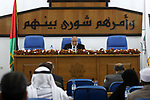 Deputy of the Legislative Council, Ahmed Bahar speaks during a meeting at the legislative council, in Gaza city on December 5, 2018. Photo by Mahmoud Ajjour