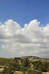 Israel, Kibbutz Ma'ale Gilboa an Mount Gilboa