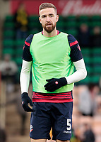 Bolton Wanderers' Mark Beevers during the pre-match warm-up <br /> <br /> Photographer David Shipman/CameraSport<br /> <br /> The EFL Sky Bet Championship - Norwich City v Bolton Wanderers - Saturday 8th December 2018 - Carrow Road - Norwich<br /> <br /> World Copyright &copy; 2018 CameraSport. All rights reserved. 43 Linden Ave. Countesthorpe. Leicester. England. LE8 5PG - Tel: +44 (0) 116 277 4147 - admin@camerasport.com - www.camerasport.com