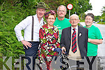 Pictured at the launch of the Kerry Friends of Motor Neurone high Nellie cycle and walk which will start at Darby O'Gills hotel, Killarney at 1pm on Sunday were Pat Kelleher, Sheila Casey, Batty O'Sullivan, Jackie O'Sullivan and Mary Lehane.......................................................................