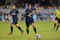 San Jose, CA - Friday April 14, 2017: Chris Wondolowski  during a Major League Soccer (MLS) match between the San Jose Earthquakes and FC Dallas at Avaya Stadium.