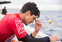/NAMOTU, Fiji (Monday, June 5, 2017) Gabriel Medina (BRA) - The Outerknown Fiji Pro, Stop No. 5 on the 2017 World Surf League (WSL) Championship Tour (CT) continued today with Round 2 called ON for a 7:45 a.m. start in solid 6-to-8 foot (2 - 2.5 metre) conditions at Cloudbreak. Four heats of Round 3 were also completed today.<br /> <br /> Photo: joliphotos.com