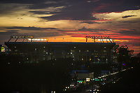 Orlando, FL - Friday Oct. 06, 2017: Camping World Stadium, Sunset during a 2018 FIFA World Cup Qualifier between the men's national teams of the United States (USA) and Panama (PAN) at Orlando City Stadium.