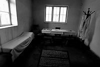 Auschwitz / Poland 2011.Nazi concentration camp Auschwitz I. Medical Room where inmates were given lethal injections of phenol..Photo Livio Senigalliesi