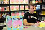 BAL HARBOUR, FL - SEPTEMBER 17: Perez Hilton signs copies of his book 'The Boy With The Pink Hair' at Books and Books on September 17, 2011 in Bal Harbour, Florida. (Photo by Johnny Louis/jlnphotography.com)