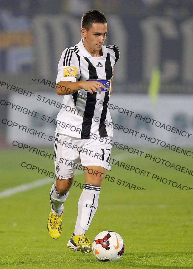 Fudbal Super liga season 2013-2014<br /> Partizan v Rad<br /> Andrija Zivkovic <br /> Beograd, 01.09.2013.<br /> foto: Srdjan Stevanovic/Starsportphoto &copy;