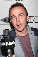 NEW YORK, NY - SEPTEMBER 26: Frankie Muniz in attendance as JAY Z hosts the premiere of 2K Sports' NBA2K13 at his very own 40/40 nightclub in New York City and enjoying a performance by Meek Mill. 40/40 Club in New York City. September 26, 2012. © Diego Corredor/MediaPunch Inc. /NortePhoto.com