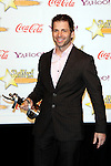 US director Zack Snyder receives the Director of the Year Award at the 2009 ShoWest Awards in Las Vegas, California 2 April 2009. The closing night ceremony for the 2009 ShoWest features top film industry talent at the final night banquet and awards ceremony.