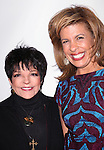Liza Minnelli & Hoda Hotb attending the Broadway Opening Night Performance After Party for 'Scandalous The Musical' at the Neil Simon Theatre in New York City on 11/15/2012