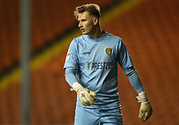 Burton Albion's goalkeeper Bradley Collins dejected after conceding three goals<br /> <br /> Photographer Stephen White/CameraSport<br /> <br /> The EFL Sky Bet League One - Blackpool v Burton Albion - Saturday 24th November 2018 - Bloomfield Road - Blackpool<br /> <br /> World Copyright © 2018 CameraSport. All rights reserved. 43 Linden Ave. Countesthorpe. Leicester. England. LE8 5PG - Tel: +44 (0) 116 277 4147 - admin@camerasport.com - www.camerasport.com
