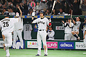 Hayato Sakamoto (JPN), <br /> MARCH 15, 2017 - WBC : <br /> 2017 World Baseball Classic <br /> Second Round Pool E Game <br /> between Japan 8-3 Israel <br /> at Tokyo Dome in Tokyo, Japan. <br /> (Photo by YUTAKA/AFLO SPORT)