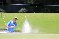 Rod Perry (USA) chips from a bunker onto the 13th green during Thursday's Round 1 of the 2017 PGA Championship held at Quail Hollow Golf Club, Charlotte, North Carolina, USA. 10th August 2017.<br /> Picture: Eoin Clarke | Golffile<br /> <br /> <br /> All photos usage must carry mandatory copyright credit (&copy; Golffile | Eoin Clarke)