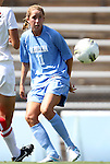 28 August 2011: North Carolina's Kelly McFarlane. The University of North Carolina Tar Heels defeated the University of Houston Cougars 6-1 at Fetzer Field in Chapel Hill, North Carolina in an NCAA Women's Soccer game.