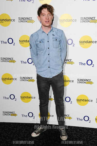 "Domhnall Gleeson at the ""Frank"" screening as part of Sundance London 2014, O2 arena, London. 25/04/2014. Picture by: Steve Vas / Featureflash"
