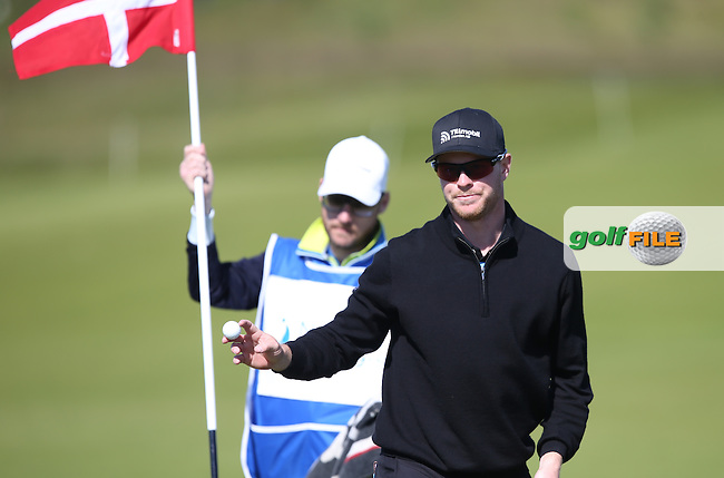 Malmo proud Jens Dantorp (SWE) sinks another birdie for a share of the lead during Round Two of the 2015 Nordea Masters at the PGA Sweden National, Bara, Malmo, Sweden. 05/06/2015. Picture David Lloyd | www.golffile.ie