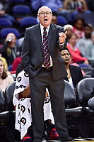 Washington, DC - June 3, 2018: Washington Mystics head coach Mike Thibault on the sidelines during game between the Washington Mystics and Connecticut Sun at the Capital One Arena in Washington, DC. (Photo by Phil Peters/Media Images International)